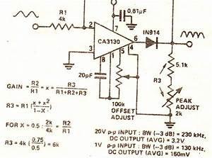 Circuit Diagram Knowledge  True Rms Converter Circuit