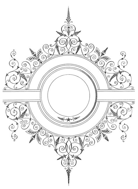 Embedding svg's 1 min read i made svgur.com to see if svg embedding could be easier. Free Vector Download - Fancy Antique Frame - The Graphics ...