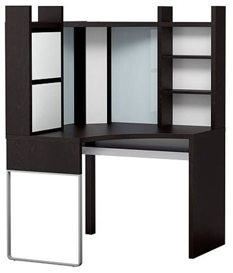 Corner Desk With Hutch Ikea by Micke Corner Workstation Scandinavian Desks And