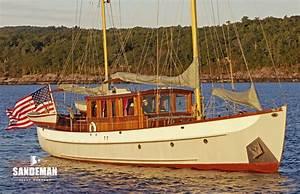 Alden 62 Ft Motor Sailer 1938 Sandeman Yacht Company
