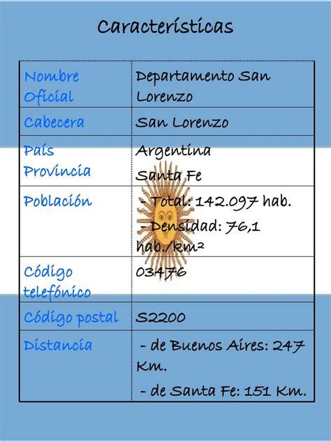 Departamento San Lorenzo - Pcia de Santa Fe, Argentina