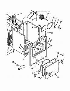 Inglis Yied4671dq0 Dryer Parts