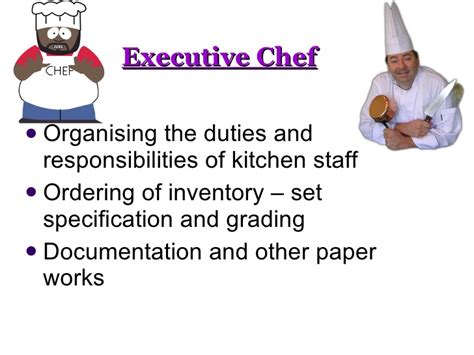chef de rang definition chef duties and responsibilities executive sous chef duties and responsibilities chef de