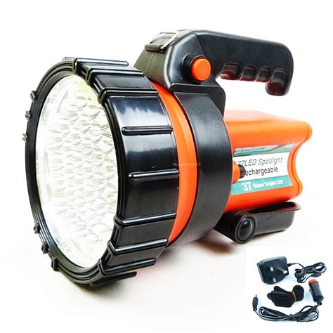 traveler led work lights rechargeable led torch work light spotlight lantern 37 led