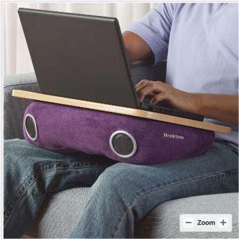 diy lap desk pillow speaker laptop cushions brookstone laptop desks