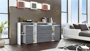 Tv Sideboard Weiß Hochglanz : sideboard tv board anrichte kommode lissabon v2 wei in hochglanz naturt nen ebay ~ Whattoseeinmadrid.com Haus und Dekorationen