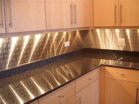 kitchen metal backsplash ideas kitchen backsplash stainless steel interiordecodir com
