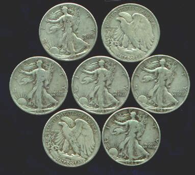 Old US Silver Coins Value