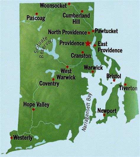 rhode island state maps interactive rhode island state