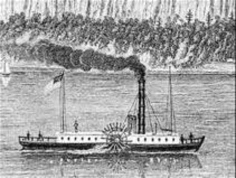 Steamboat Fulton by Robert Fulton Invention Steamboat Timeline Timetoast