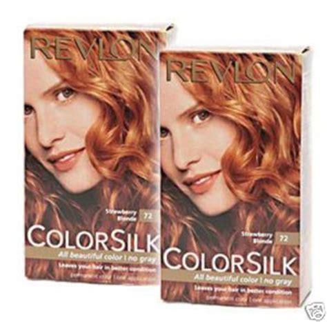 Best Strawberry Box Dye by Revlon Colorsilk In 72 Strawberry Reviews Photos