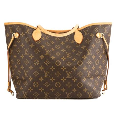 louis vuitton monogram canvas neverfull mm bag pre owned  luxedh