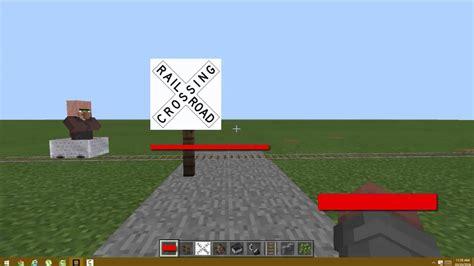 Rail Road Crossing Mod Minecraft