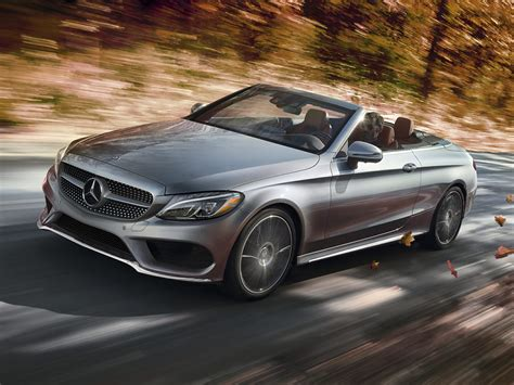 mercedes convertible new 2017 mercedes benz c class price photos reviews