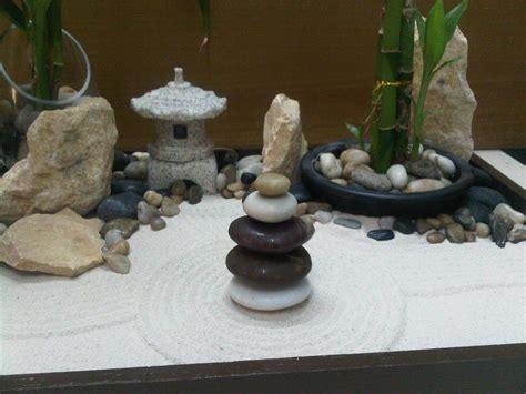 Miniature Zen Garden By Wallzart  Miniature Zen Garden