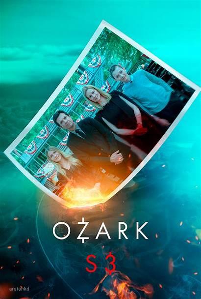 Ozark Season Poster Tv Usa Crime X35