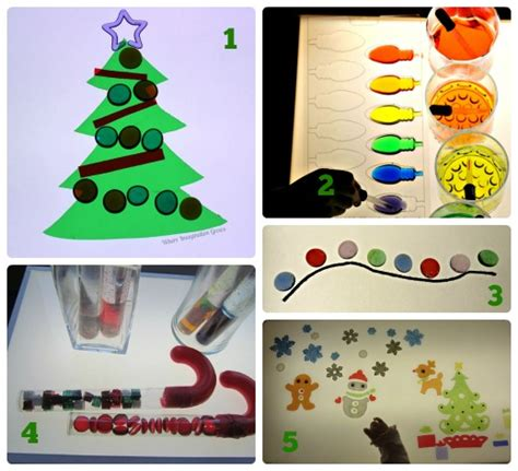 10 light christmas activities for kids where