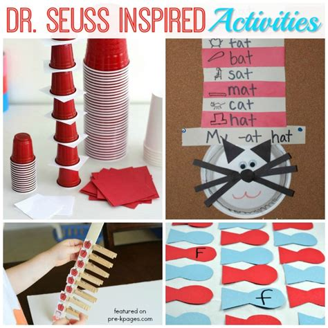 dr seuss activities for preschoolers pre k pages 920 | Dr Seuss Birthday Celebration Week Ideas for Preschool