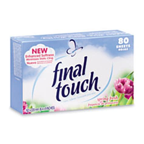 tide touch dryer sheets fresh scent 80 sheets
