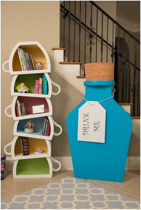 quirky  cool bookcase design ideas