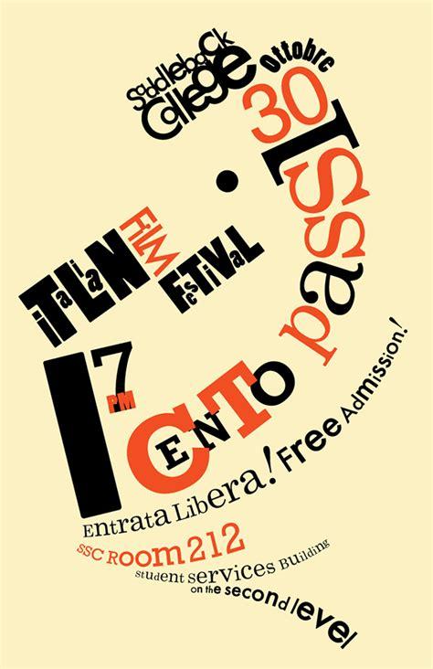 type poster futurist on behance