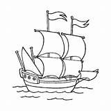 Barco Voilier Sailboat Desenho Coloriages Colorir Piratas Barcos sketch template