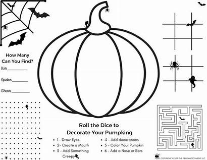 Halloween Activity Coloring Pages Pdf Activities Games