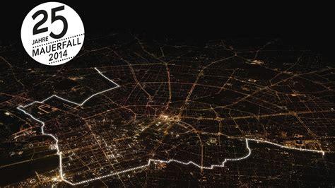25 Jahre Mauerfall In Berlin by Lichtgrenze 25 Jahre Mauerfall Huttenblatt
