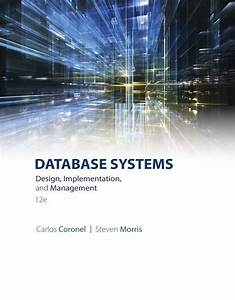 Download Pdf Of Database Systems  Design  Implementation   U0026 Management 12th Edition  By Carlos