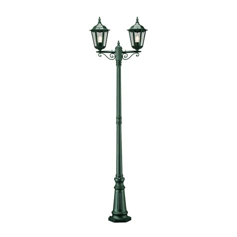 konstsmide 7234 600 firenze green 2 light post l