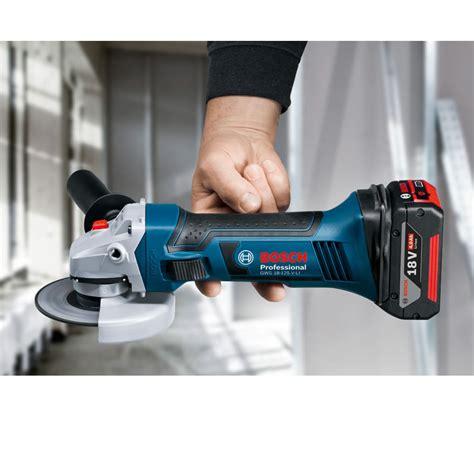 bosch gws 18 125 v li professional bosch gws 18 125 v li accu haakse slijper 18 volt basic l boxx toolsxl gereedschap