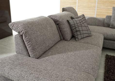 canapé cuir ou tissu canapé 3 places lineflex avec très grande chaise longue