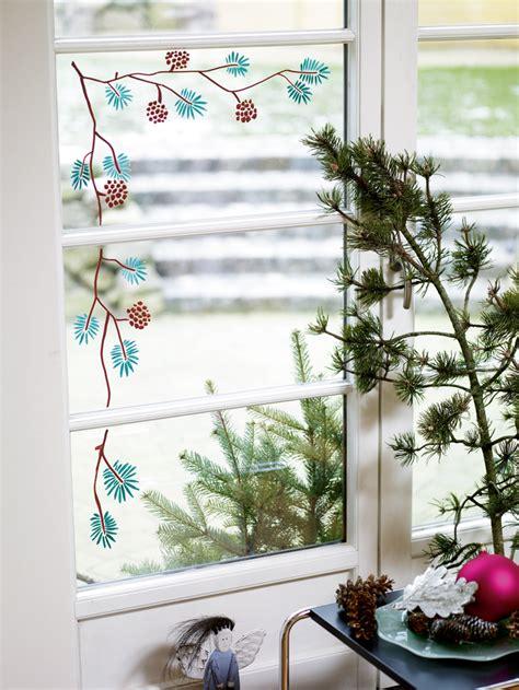Fensterdekoration Weihnachten by Fensterdekoration Im Advent Basteln Selbst De