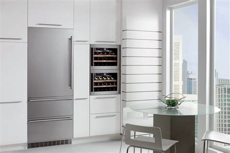 seamless design integrated stainless steel refrigeration