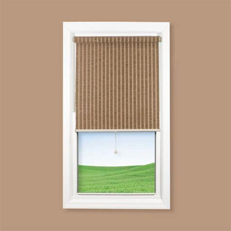 coolaroo chocolate cordless natural paper fiber interior