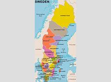 Sweden Country Profile Free Maps of Sweden Open Source
