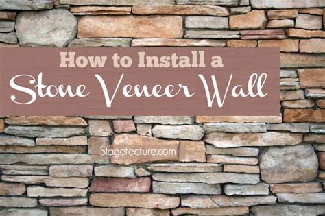 how to install a wall how to install interior stone veneer video