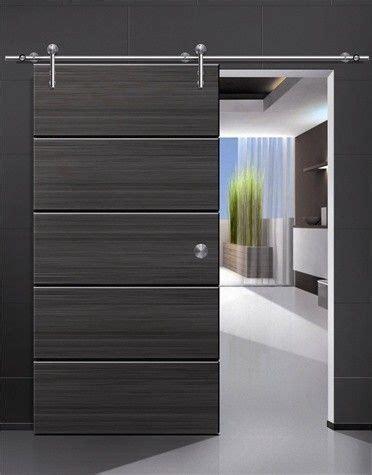 Modern Barn Doors by Modern Barn Door Hardware For Wood Door Modern