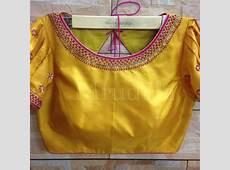 Simple work work Blouse designs, Designer blouse