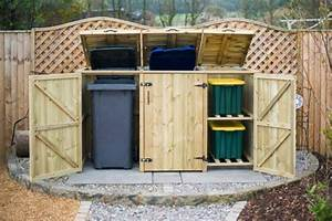 Mülltonnenverkleidung Selber Bauen : m lltonnenbox selber bauen tipps und ideen ~ Watch28wear.com Haus und Dekorationen