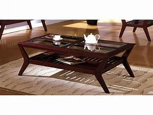 wood and glass coffee table elegant dark cherry wood With cherry wood and glass coffee table