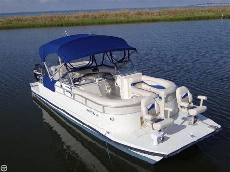 bennington custom twin engine catamaran