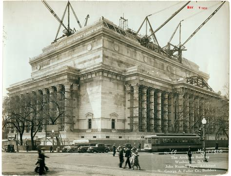 A History Of The National Archives Building, Washington