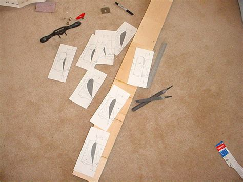 wood propeller fabrication  steps  pictures