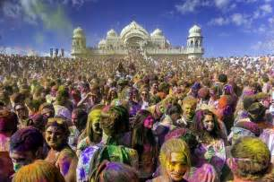 8 best places to celebrate holi in india trawell
