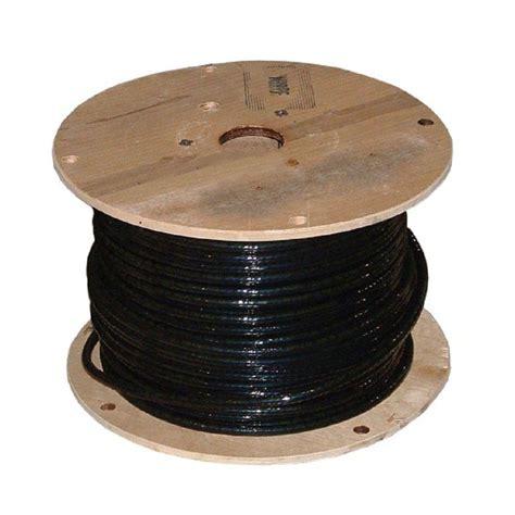 southwire 500 ft 4 0 black stranded 3e al xhhw wire 11277115 the home depot