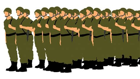 Army Clipart Clipart Soldier Pencil And In Color
