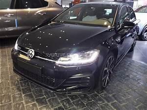 Golf 7 Gtd Noir : volkswagen golf 7 gtd 2017 diesel occasion 9602 a tanger ~ Medecine-chirurgie-esthetiques.com Avis de Voitures