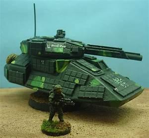 Combat Wombat Heavy Grav Tank | 15mm Sci-Fi Miniatures ...