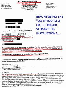 credit repair diy instructions only to remove 3rd party With instant credit repair letters